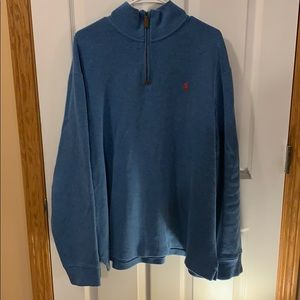 Polo by Ralph Lauren 1/4 zip pullover, XXL